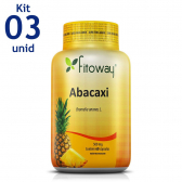 Abacaxi 500Mg 3X 60 Caps - Fitoway - Mkp000283000164