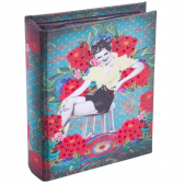 Album Pin Up Azul P Exclusivo - 18Cm X 14Cm X 5Cm - Trevisan Concept Mkp000196000282