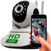 Camera Ip 1.3Mp 720P Hd Wireless Wifi Audio Sd P2P Hd 2 Antenas - Siga Eletro Mkp000361000001