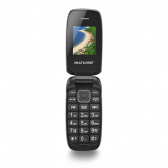 Celular Flip Up Dual Chip Mp3 Dourado Multilaser - P9044 Mkp000278000208