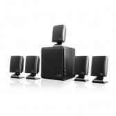 Home Theater 5.1 Multilaser 60W Rms Preto - Sp088 Mkp000278001015