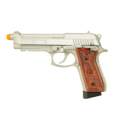 Pistola Airgun Swiss Arms Sa92 Stainless   Full Metal Co2 4,5Mm Mkp000197002237
