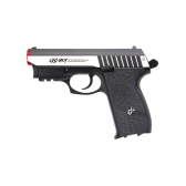 Pistola Airsoft G&g Gs-801 Sv Co2 Full Metal Blowback Mkp000197000434